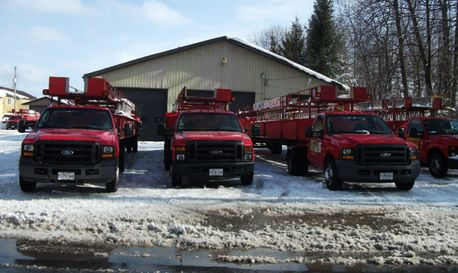 fleet of trucks – 2013